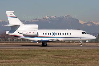 LX-FTA - Private Dassault Falcon 900 series