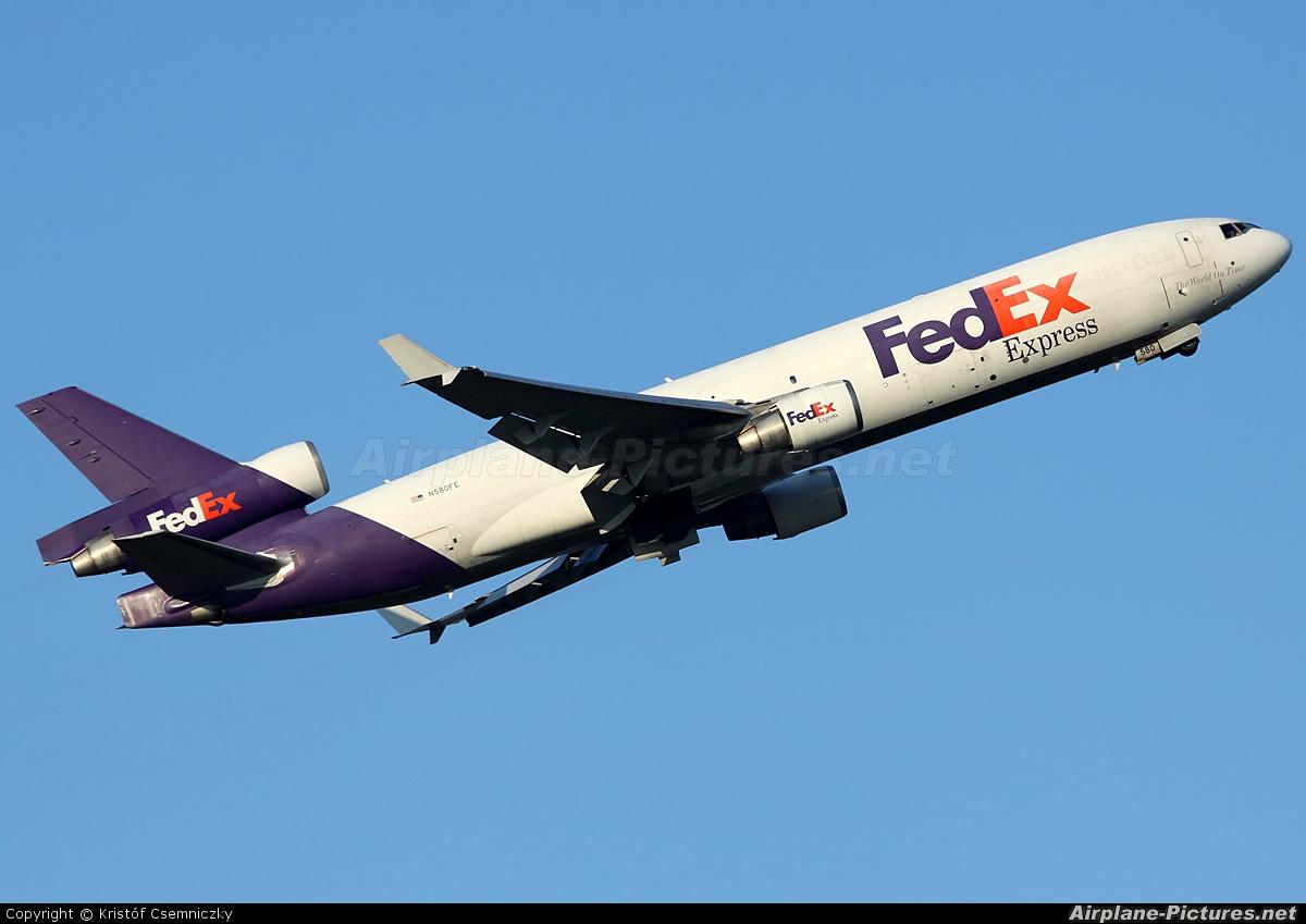 N580FE - FedEx Federal Express McDonnell Douglas MD-11F at ...