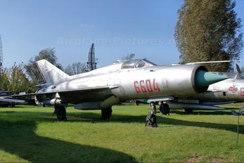 6604 - Poland - Air Force Mikoyan-Gurevich MiG-21PFM