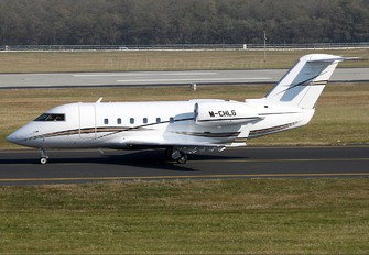 M-CHLG - Albion Holdings Canadair CL-600 Challenger 600 series