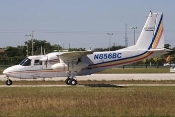 N856BC - Private Britten-Norman BN-2 Islander