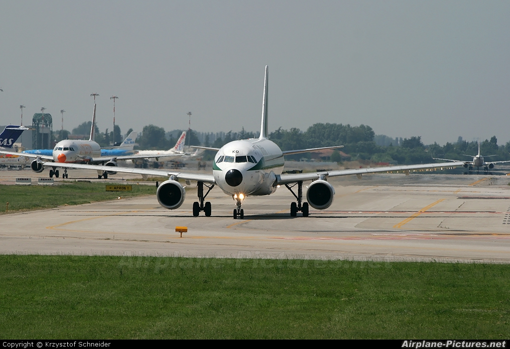 Alitalia I-BIKO aircraft at Bologna - Borgo Panigale