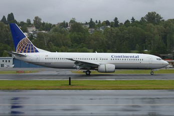 N76519 - Continental Airlines Boeing 737-800