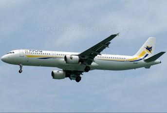 F-GYAO - Myanmar Airways International Airbus A321