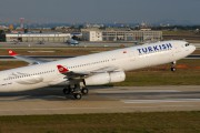 TC-JII - Turkish Airlines Airbus A340-300 aircraft