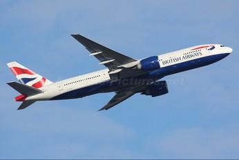 G-ZZZA - British Airways Boeing 777-200