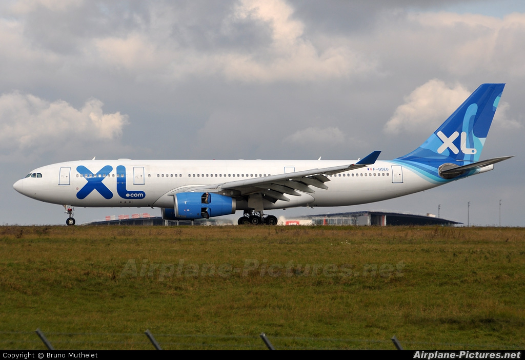 f gseu xl airways france airbus a330 200 at paris