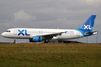 F-GKHK - XL Airways France Airbus A320