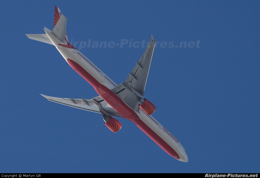 Air India VT-ALM aircraft at London - City