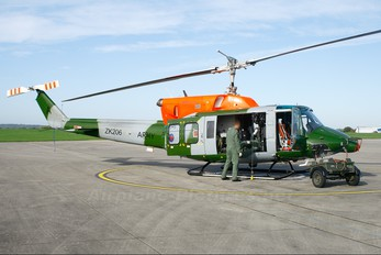 ZK206 - British Army Bell 212