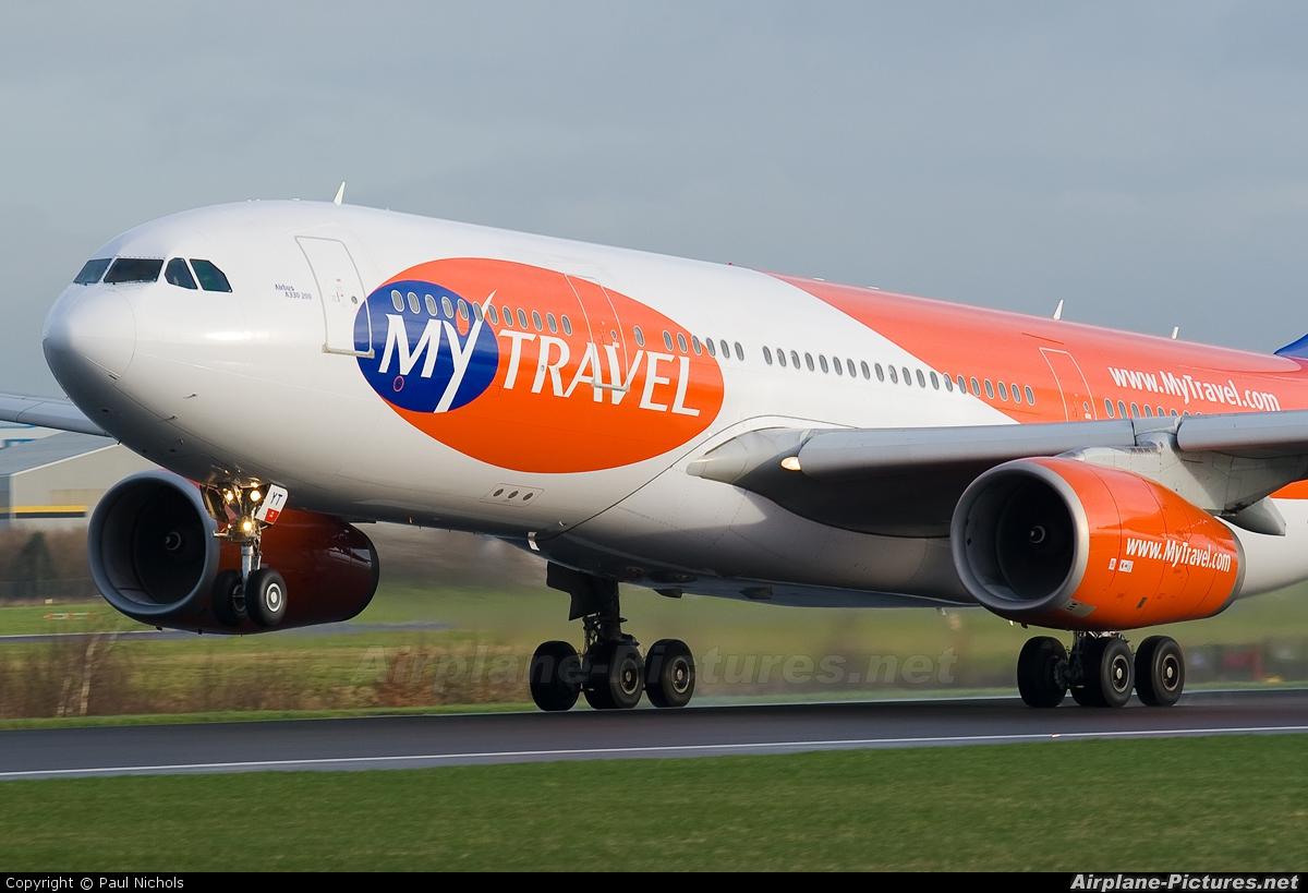 MyTravel Airways G-OMYT aircraft at Manchester