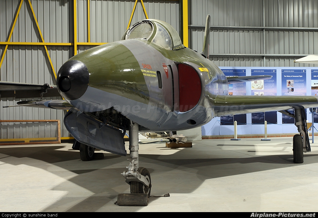 Royal Air Force WK277 aircraft at Newark Air Museum