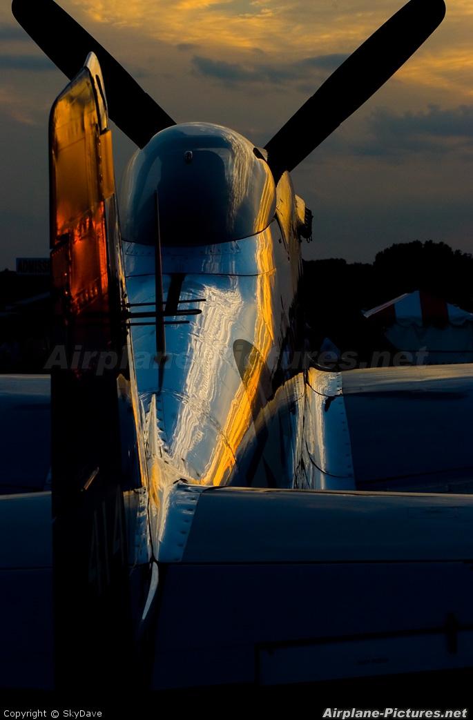 Private N451D aircraft at Oshkosh - Wittman Regional