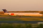 OY-KHG - SAS - Scandinavian Airlines McDonnell Douglas MD-82 aircraft