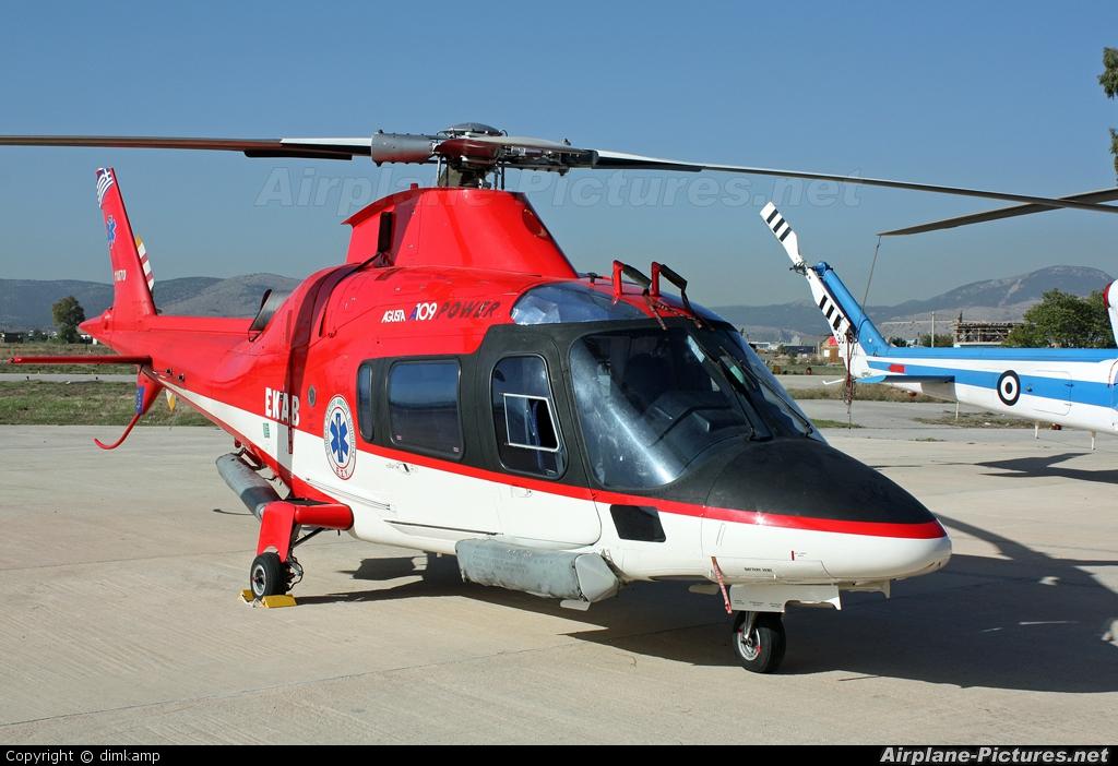 EKAB (Greek Health Service) 11070 aircraft at Elefsina