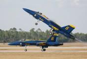 163768 - USA - Navy : Blue Angels McDonnell Douglas F/A-18C Hornet aircraft