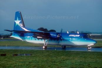 F-GDXT - Stellair Fokker 50