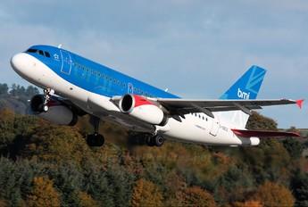 G-DBCG - BMI British Midland Airbus A319