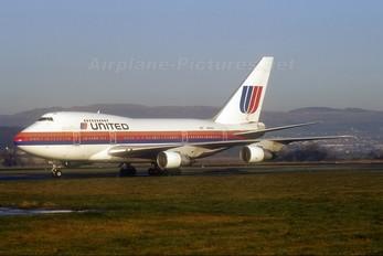 N144UA - United Airlines Boeing 747SP