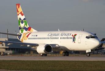 VP-CKZ - Cayman Airways Boeing 737-300