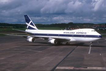 G-HIHO - Highland Express Boeing 747-100