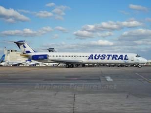 LV-BGV - Austral Lineas Aereas McDonnell Douglas MD-83
