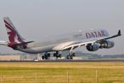 A7-AGC - Qatar Airways Airbus A340-600 aircraft