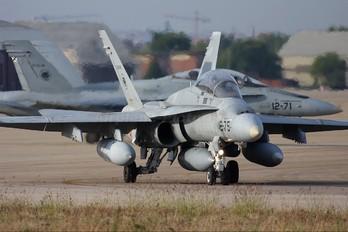 CE.15-12 - Spain - Air Force McDonnell Douglas EF-18B Hornet