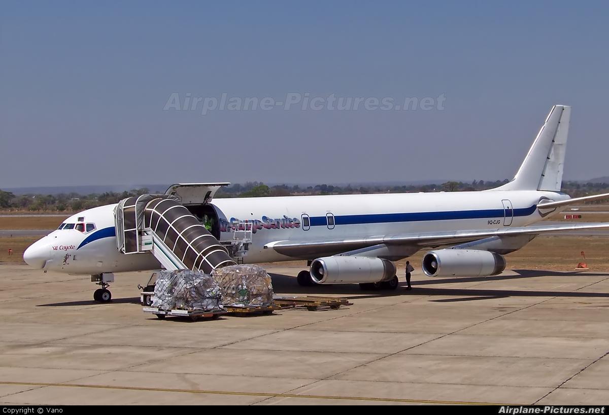 Trans Air Cargo Service - TACS 9Q-CJG aircraft at Lusaka