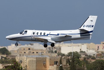 G-VUEM - Private Cessna 501 Citation I / SP