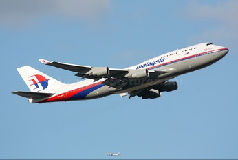 9M-MPF - Malaysia Airlines Boeing 747-400