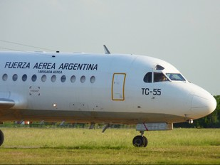 TC-55 - Argentina - Air Force Fokker F28