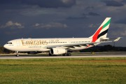 A6-EKV - Emirates Airlines Airbus A330-200 aircraft