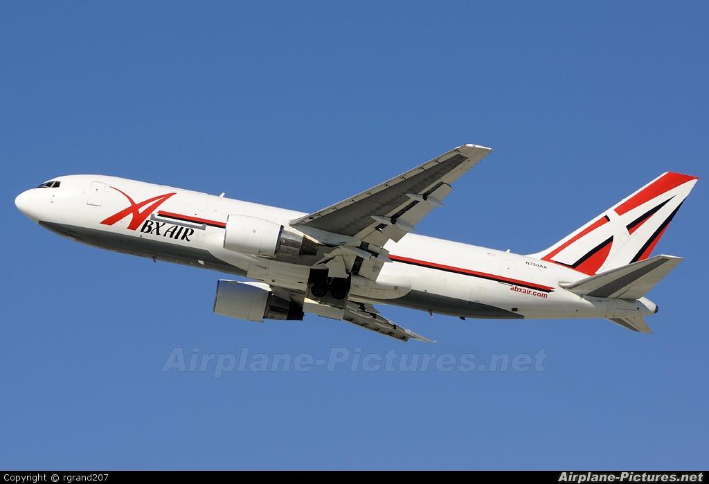 ABX Air N750AX aircraft at Los Angeles Intl