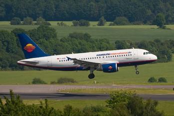 D-AHIN - Hamburg International Airbus A319