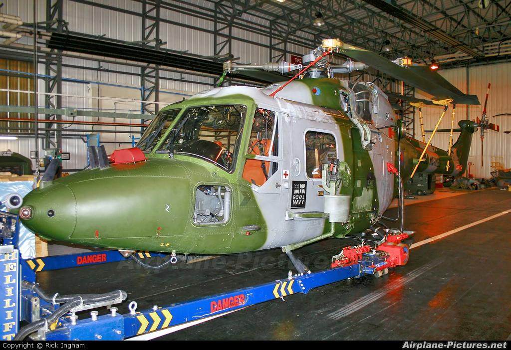 Royal Navy: Royal Marines XZ177 aircraft at Yeovilton