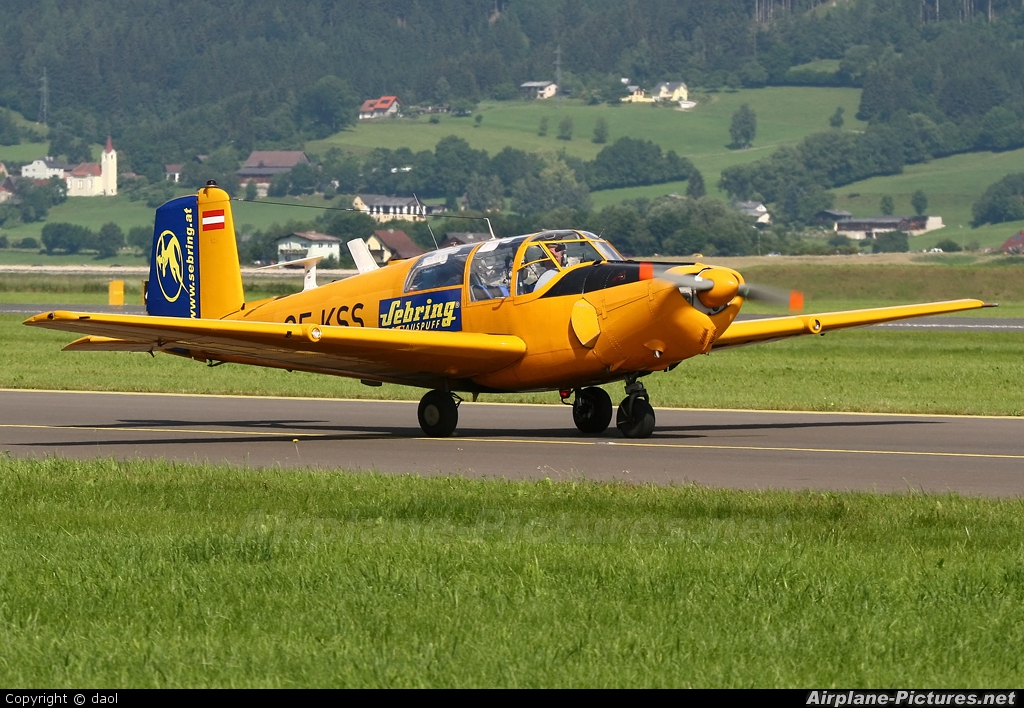 Private OE-KSS aircraft at Zeltweg
