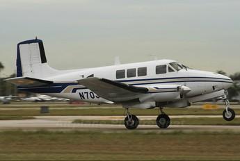 N7034E - Private Beechcraft 65 Queen Air