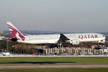 A7-BAA - Qatar Airways Boeing 777-300ER