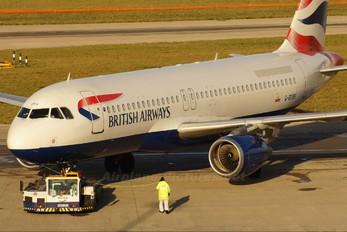 G-BUSH - British Airways Airbus A320