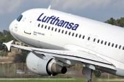 D-AIQE - Lufthansa Airbus A320 aircraft