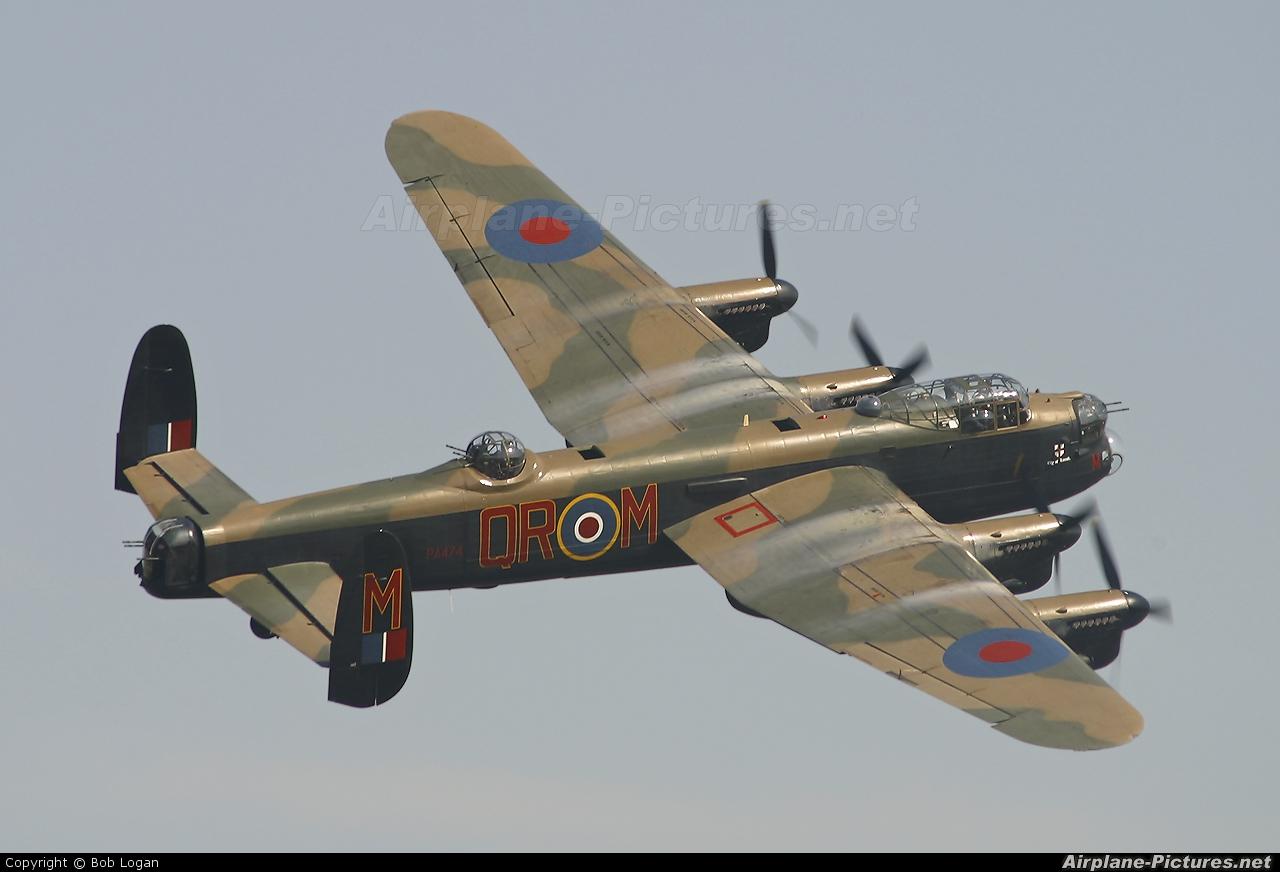 "Royal Air Force ""Battle of Britain Memorial Flight&quot PA474 aircraft at Prestwick"
