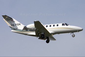OE-FGK - Private Cessna 525 CitationJet