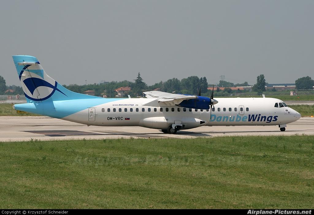 Danube Wings OM-VRC aircraft at Bologna - Borgo Panigale
