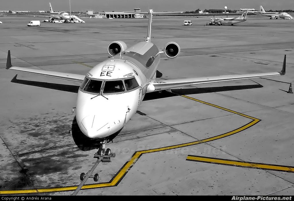 Air Nostrum - Iberia Regional EC-JEE aircraft at Barcelona - El Prat