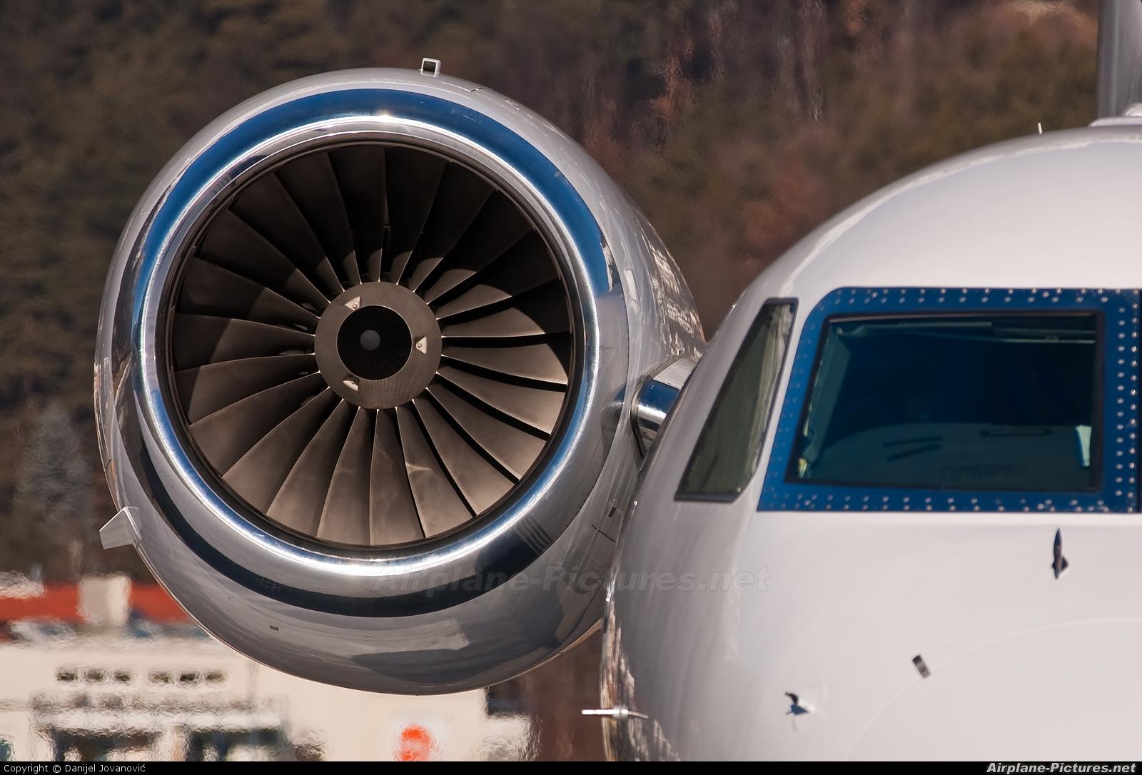 International Jet Management OE-IAG aircraft at Innsbruck