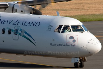 ZK-MCJ - Air New Zealand Link - Mount Cook Airline ATR 72 (all models)