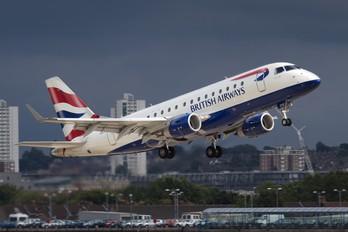 G-LCYE - British Airways - City Flyer Embraer ERJ-170 (170-100)