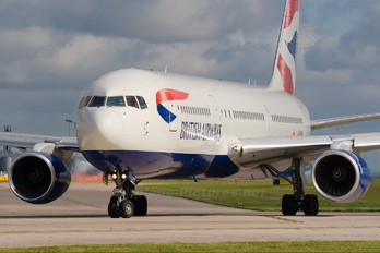 G-BNWH - British Airways Boeing 767-300