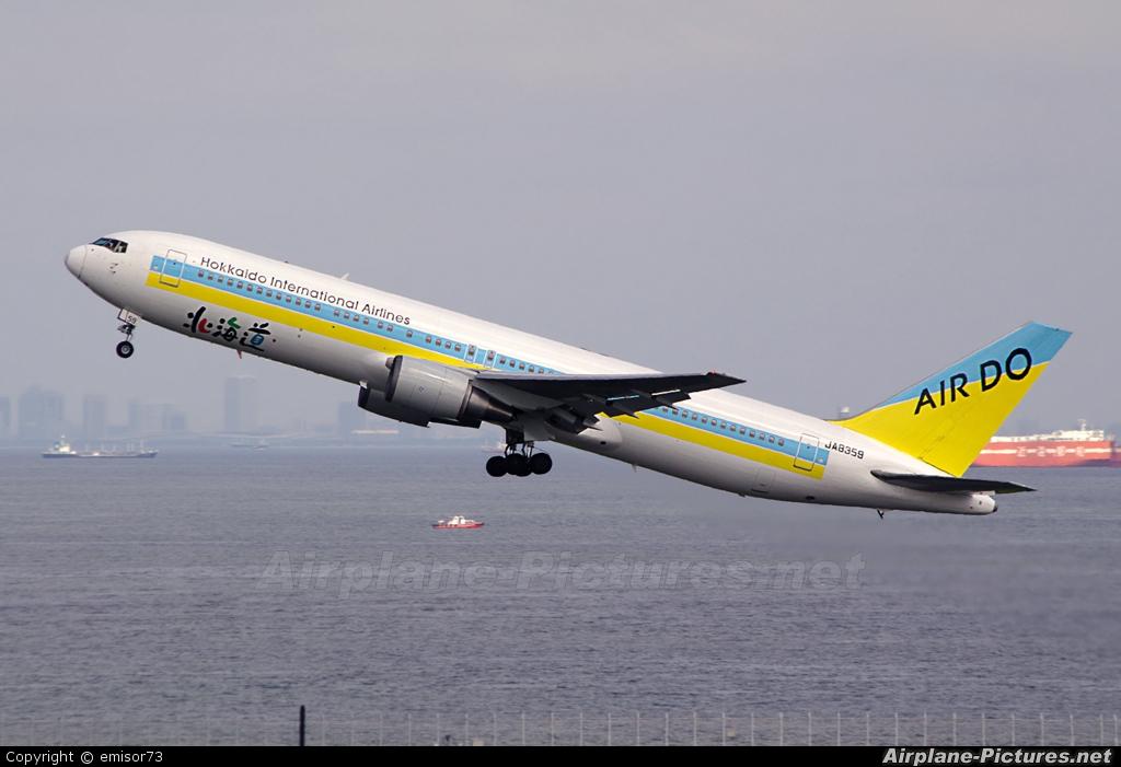 Air Do - Hokkaido International Airlines JA8359 aircraft at Tokyo - Haneda Intl